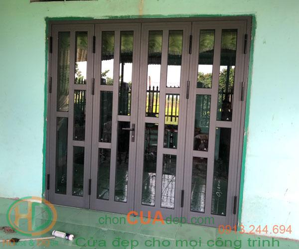 cửa nhôm xingfa 4 cánh-12