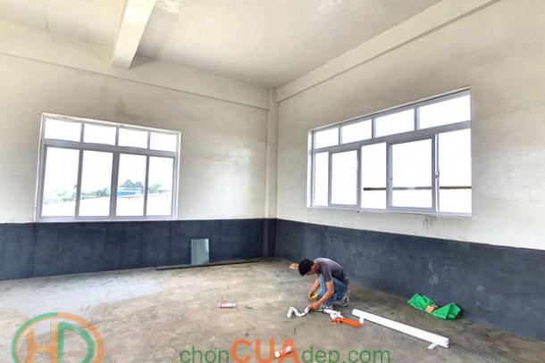 Cửa nhựa lõi thép đẹp Biên Hòa