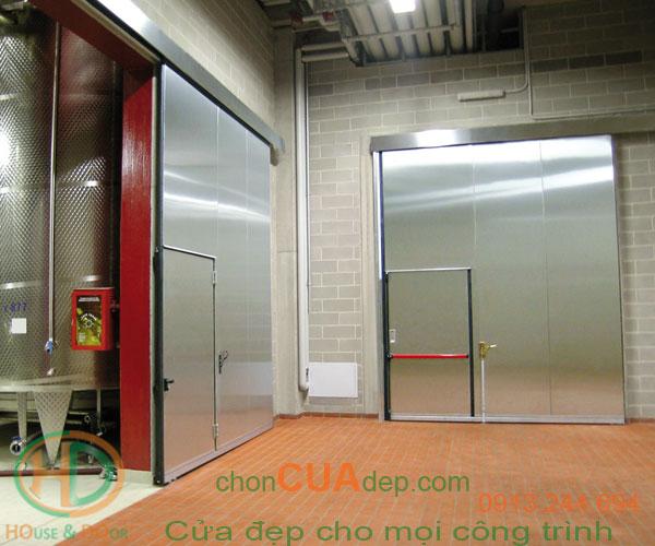 cửa chống cháy inox 3