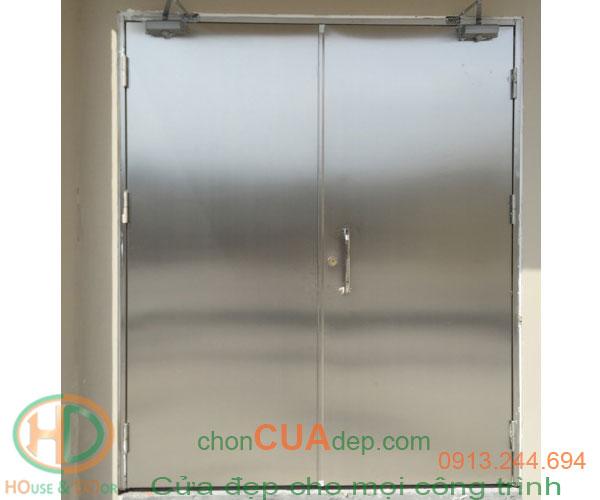 cửa chống cháy inox 4