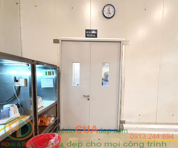 cửa chống cháy inox 9