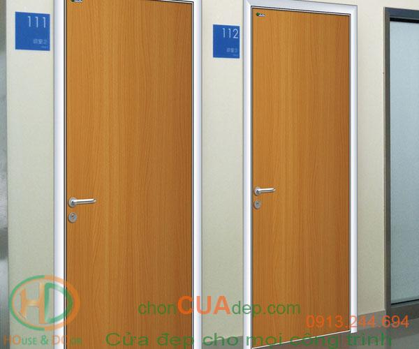 cửa chống cháy vân gỗ 6