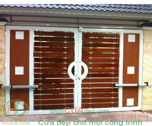 cửa cổng tự động 2