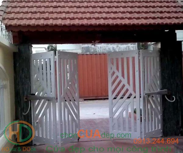 cửa cổng tự động 3