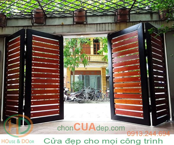 cửa cổng tự động 4