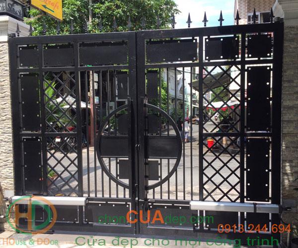 cửa cổng tự động 5