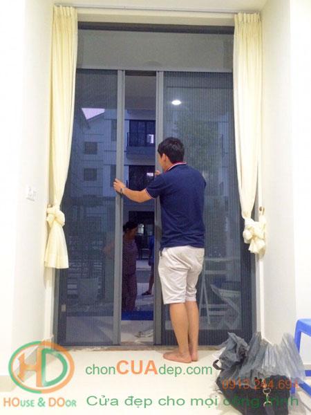 cửa lưới chống muỗi 8