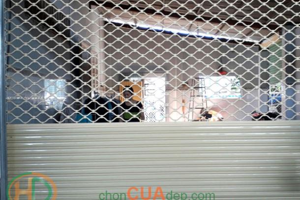 Cửa cuốn mắt võng Biên Hòa